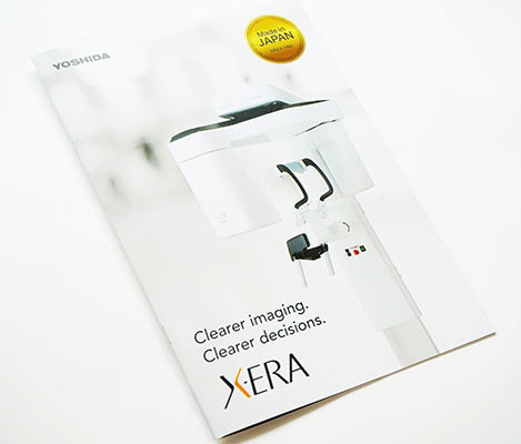 XERA様疑似エンボスを利用したパンフレット